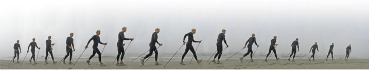 nordic walking o marcha nórdica