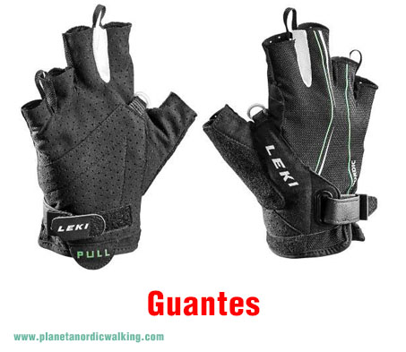 guantes nordic walking
