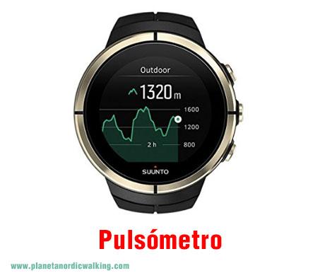 pulsómetro para marcha nórdica